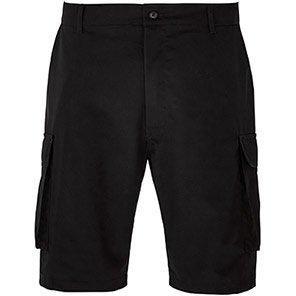 Arco Essentials Black Cargo Shorts