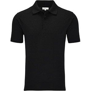 Arco Essentials Men's Black Polo Shirt