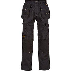 DEWALT Pro Tradesman Men's Black Work Trousers