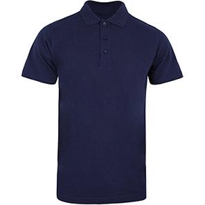 Men's Fairtrade Polo Shirt Navy