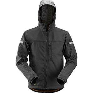 Snickers AllroundWork 1229 Black Softshell Jacket