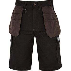 TROJAN Black/Grey Tradesman Shorts
