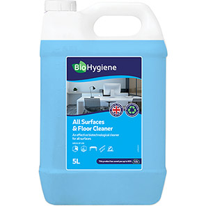 BioHygiene Concentrated All Surfaces and Floor Cleaner 5L