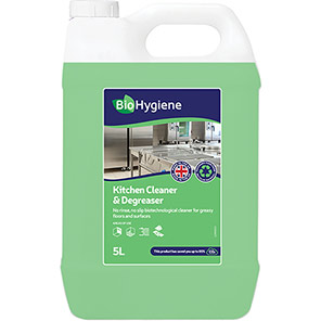 BioHygiene Concentrated Kitchen Cleaner and Degreaser 5L