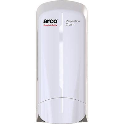 Arco Prep Manual Dispenser Primary Base Colour White