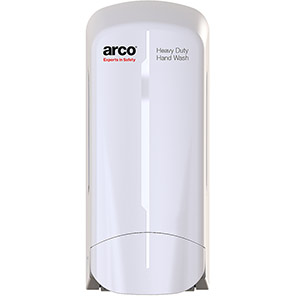 Arco White Antibacterial Gritty Handwash Dispenser