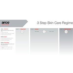 Arco 4 dispenser Backing Board Primary Base Colour White