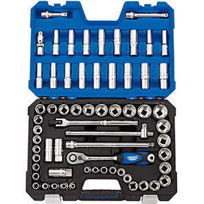 """Draper Expert 1/2""""-Drive Combi Socket Set"""
