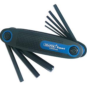 Draper 8-Piece Metric Hex Key Tool