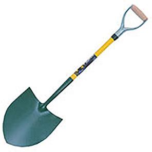 Bulldog Powerlite Fibreglass Round-Mouth Shovel