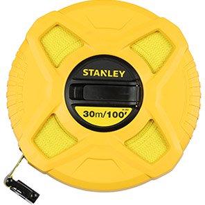 Stanley 30m Fibreglass Measuring Tape