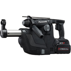 Panasonic SDS+ Rotary Hammer Drill with Dust Collection System