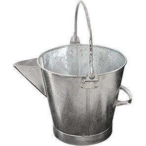Galvanised Metal 13L Tar Can