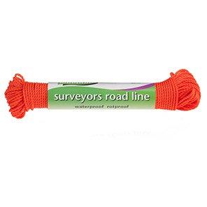 Ultratwine Orange Polypropylene Road Line 30m