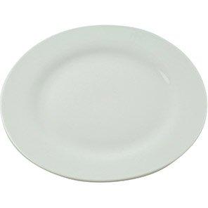 White Ceramic Dinner Plate (Box of 12)