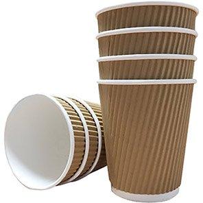 Belgravia Ripple Paper Cups (Box of 500)