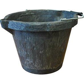 Melba Swintex Black Heavy-Duty Builder's Bucket