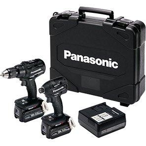 Panasonic 5.0Ah Brushless Combi-Drill and Impact Driver Pack