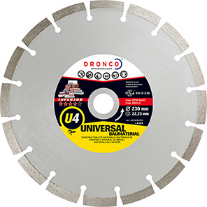 DRONCO Superior U4 Diamond Cutting Disc