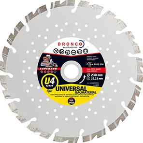 DRONCO Superior U4 Speed Diamond Cutting Disc