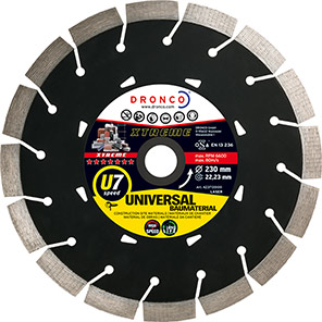 DRONCO Xtreme U7 Speed Diamond Cutting Disc