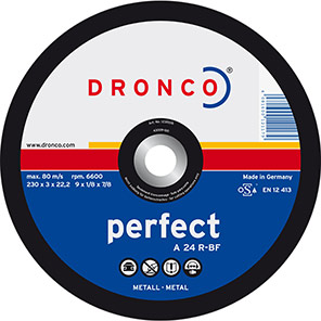 DRONCO Perfect A 24 R Metal Cutting Discs (Pack of 25)