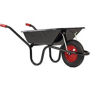 Chillington Camden Black 85L Pneumatic Wheelbarrow