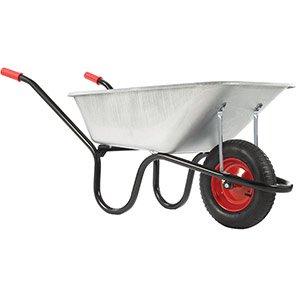 Chillington County Galvanised 120L Pneumatic Wheelbarrow