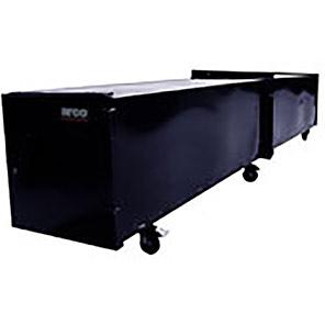Copper Coffin Mobile Pipe Storage Box