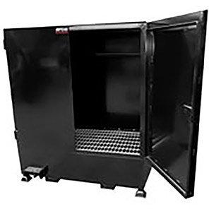 Fully Enclosed Steel Four-Drum Storage Unit