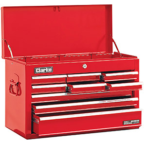 Clarke CTC900 Red Nine-Drawer Tool Chest
