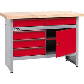 Clarke Five-Drawer Workbench