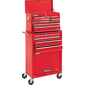 Clarke Red 13-Drawer Tool Chest and Cabinet
