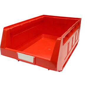 Bott Red Plastic Storage Bin
