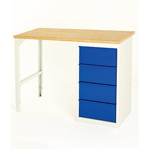 Bott Economy Four-Drawer Workbench