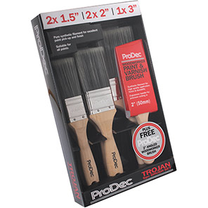 ProDec Trojan Brush Set