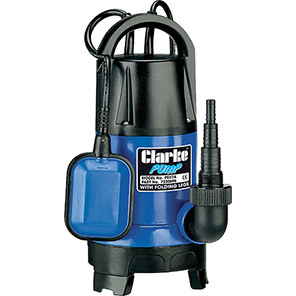 Clarke 750W/230V Dirty-Water Submersible Pump