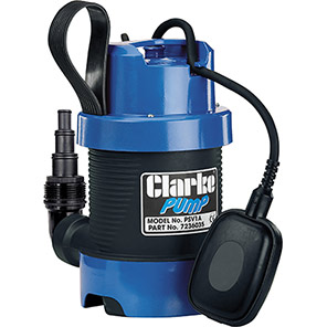 Clarke 335W/230V Dirty-Water Submersible Pump