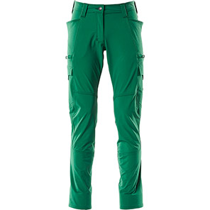 MASCOT Accelerate 18178 Women's Green Work Trousers