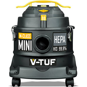 V-TUF MINI M-Class HEPA Filter Vacuum Cleaner