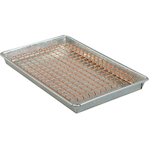 IGE Galvanised Steel Spill Tray with Mesh Cover