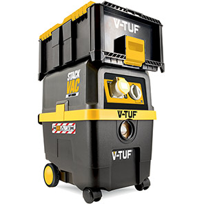 V-TUF STACKVAC M-Class Wet-and-Dry Dust Extractor