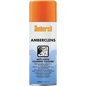 Ambersil Amberclens Antistatic Foaming Cleaner 400ml