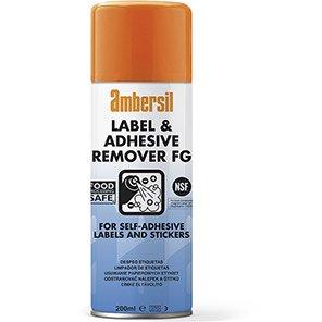 Ambersil Label & Adhesive Remover Spray 200ml