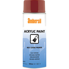 Ambersil Red Oxide Acrylic Spray Paint Primer