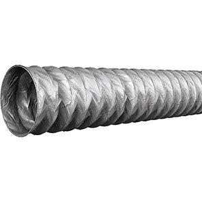Grey Light-Duty PVC Ducting 6m