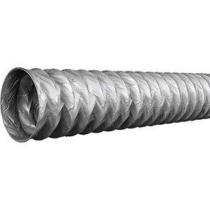Grey Light-Duty PVC Ducting 10m