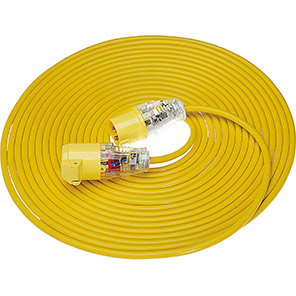 KES Yellow 1.5mm Extension Lead 14m