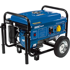 Draper Expert 2.5kW Portable Petrol Generator