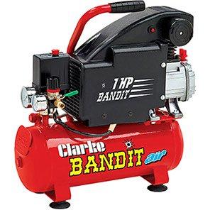 Clarke Bandit IV 8L Air Compressor